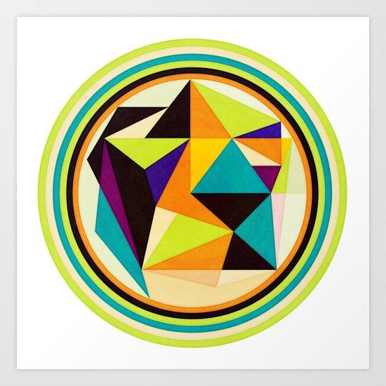 Angle Management Art Print