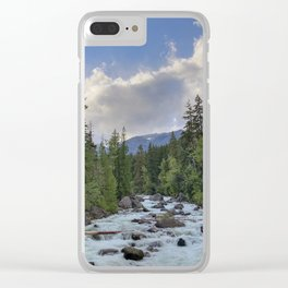 The Icicle. Clear iPhone Case