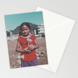 Silent child Stationery Cards