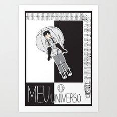 MEU UNIVERSO (My Universe) Art Print