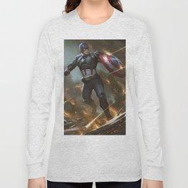 Steve Rogers Long Sleeve T-shirt