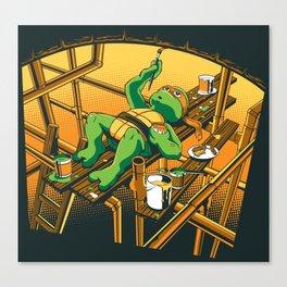 The Sistine Sewer Canvas Print