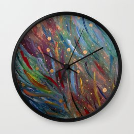 Colours of Happiness Wall Clock
