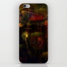 Train de nuit iPhone & iPod Skin