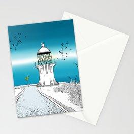Cape Reinga Lighthouse Stationery Cards