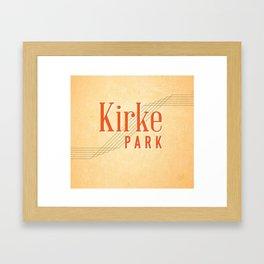 Kirke Park Framed Art Print