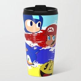 Smash Brothers: The Legends Metal Travel Mug