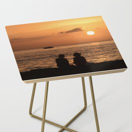 Tranquil Friends Side Table
