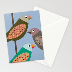 Fun Finches Stationery Cards