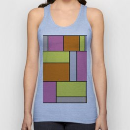 Abstract #18 Unisex Tank Top
