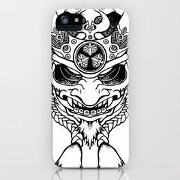 Oni Samurai Mask iPhone Case
