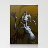 baphomet Stationery Cards featuring Baphomet by Ejay Basford