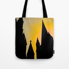 Steeple Sunrise Tote Bag