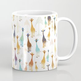 Giraffe of a different Color: white background Coffee Mug