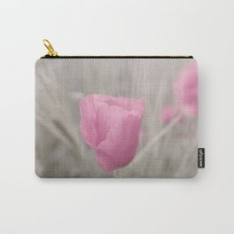 Pink poppy the Lady flower Carry-All Pouch