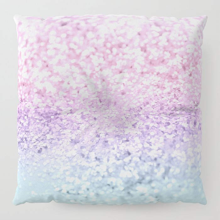 Unicorn Girls Glitter #1 #shiny #pastel #decor #art #society6 Floor Pillow