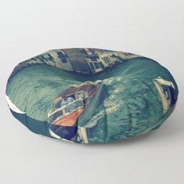 Venice, Grand Canal 3 Floor Pillow