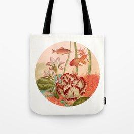 Botanical Fishbowl Tote Bag