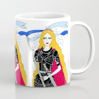 justice Mugs featuring Justice by Alxndra Cook