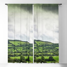 The green of nature Blackout Curtain