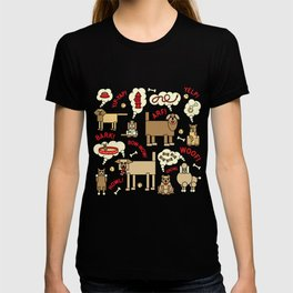 What Dogs Think and Say T-shirt