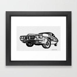 G T O Framed Art Print