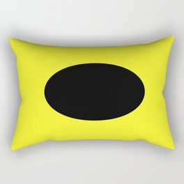 I is for India Rectangular Pillow