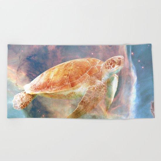 Nebula Turtle Beach Towel