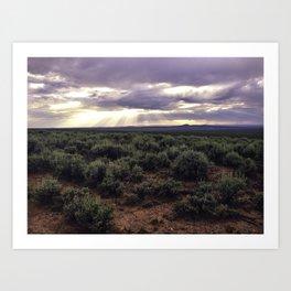 Taos Magic Art Print