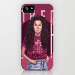 Portrait of Ch iPhone Case