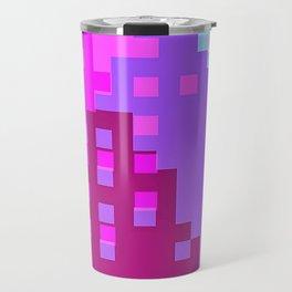 colorful city Travel Mug