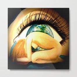 earths eye Metal Print