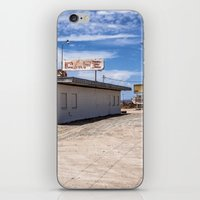 cafe iPhone & iPod Skins featuring cafe by petervirth photography