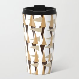 brown spearheads Travel Mug