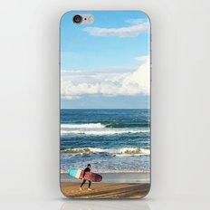 Wave rider iPhone & iPod Skin