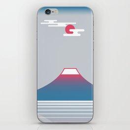 snow mountain 02 iPhone Skin