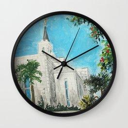 San Salvador El Salvador LDS Temple Wall Clock