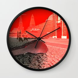 Squared: Shadow Game Wall Clock