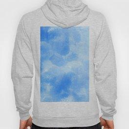 Blue Foam Plastic Texture Hoody