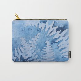 Blue ferns Carry-All Pouch