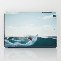 surfing iPad Cases featuring Surfing  by Limitless Design