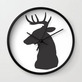 Buck Head Wall Clock