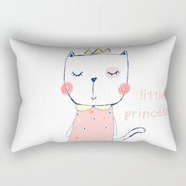 CAT CARTOON PRINCESS Rectangular Pillow