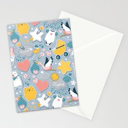 My Baby's Calendar 2020 // baby girl or boy Stationery Cards