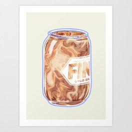 Cold Brew Art Print