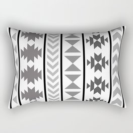 Winter Aztec Rectangular Pillow