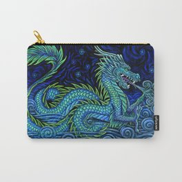 Chinese Azure Dragon Carry-All Pouch