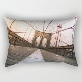 Brooklyn Bridge, New York City Rectangular Pillow