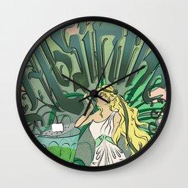 Art Nouveau Absinthe Poster Wall Clock