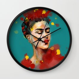 Woman power Wall Clock